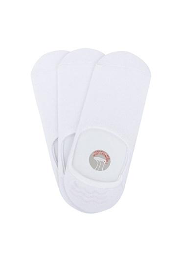 DeFacto 3'lü Çorap Beyaz